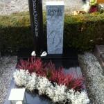 Daniel's Grab mit Grabstein
