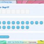 Softwaretest Lernsoftware Startbildschirm