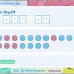 Softwaretest Lernsoftware Lösungswort eintippen