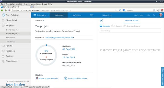 Comindware Project - Überblick